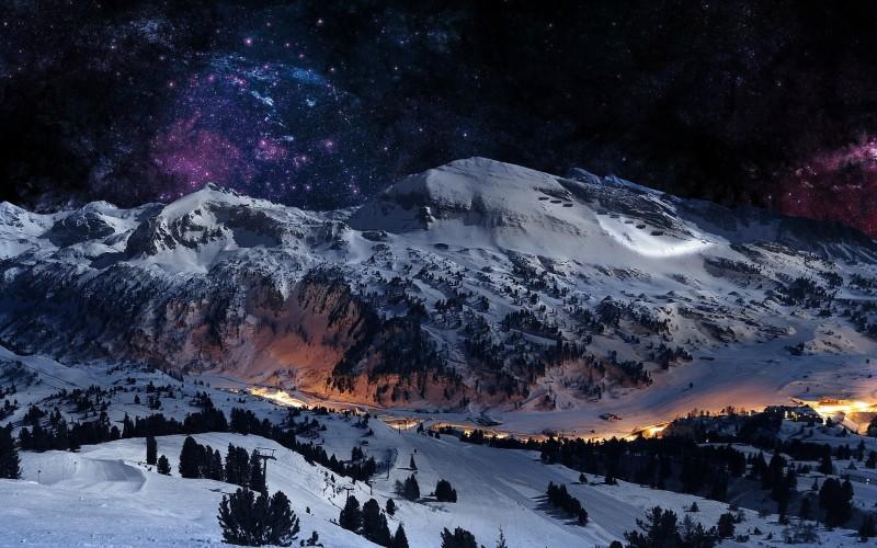 Ski resort nach