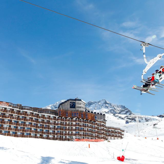 Résidence Odalys Tourotel in Val Thorens