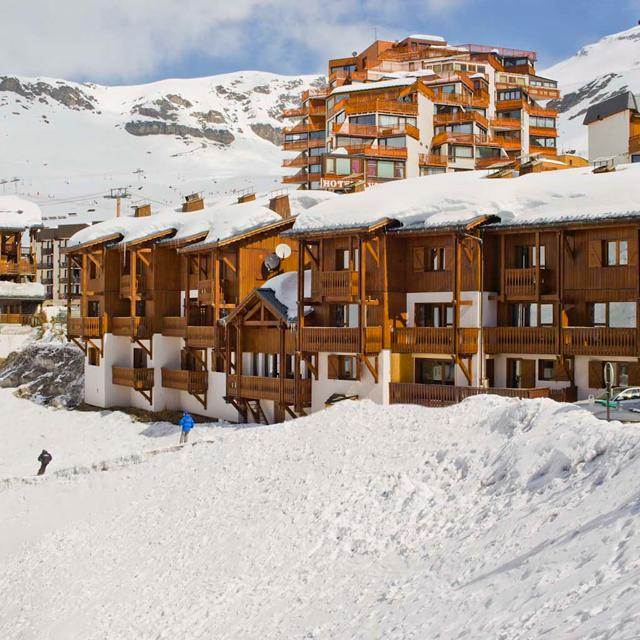 Résidence Montagnettes Lombarde in Val Thorens